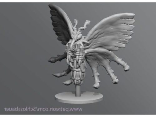 Poison Butterfly Character Sculpture