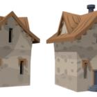 Stone Wood House Design