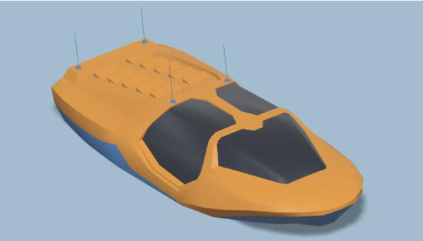 Moottorivene Speed Boat