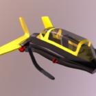 Q Pod Hornet Sci-fi Spaceship