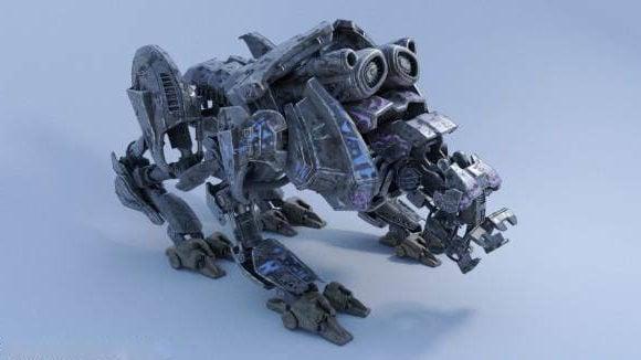 Perro estilo Quad Bot