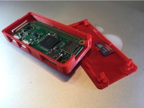 Capa Raspberry Pi Zero inteligente para impressão