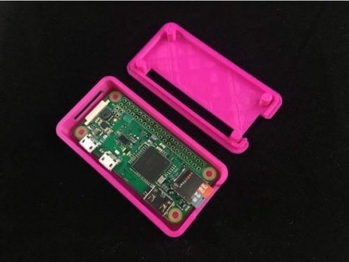 Capa Raspberry Pi Zero imprimível