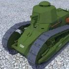 ルノーFt17ヴィンテージ軽戦車