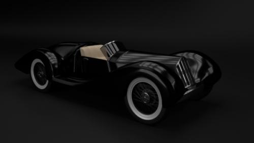Retro vintage-auto