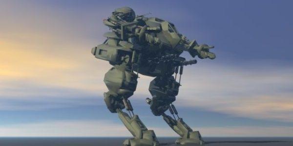 Guerrero Robo de ciencia ficción