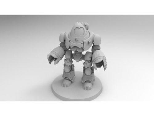 Personagem de jogo robô Dread