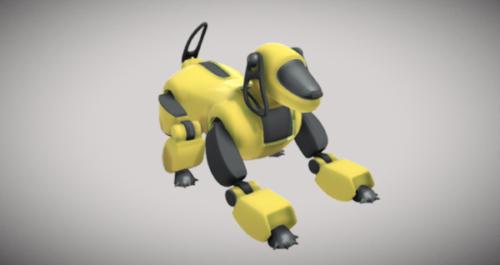 Diseño de robot perro