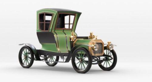 Rochet Schneider Vintage -auto 1909