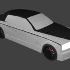 ロールスロイス Lowpoly 車