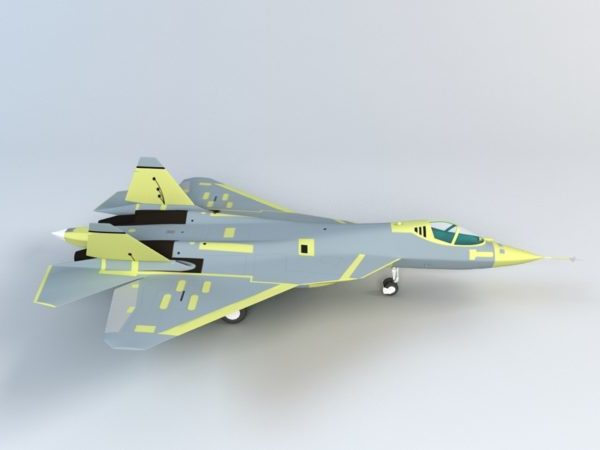 Aviones de combate Sukhoi T-50