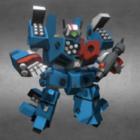 Macross Robot Schwere Rüstung