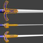 Weapon Saber Sword Set