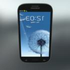 أسود Samsung Galaxy S3 Phone