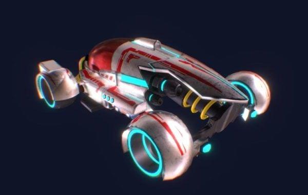 Tron Car Sci-Fi-auto
