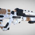 Sci-fi lasergeweer