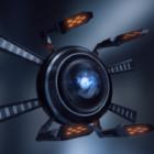 الخيال العلمي تصميم الطائرة بدون طيار