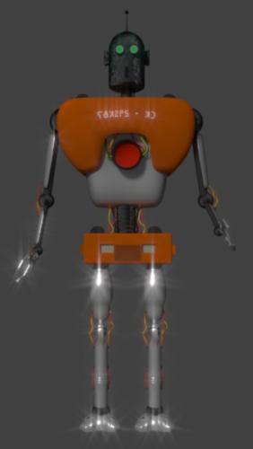 Robot Droid simple