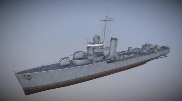 Crucero de batalla de los Sims