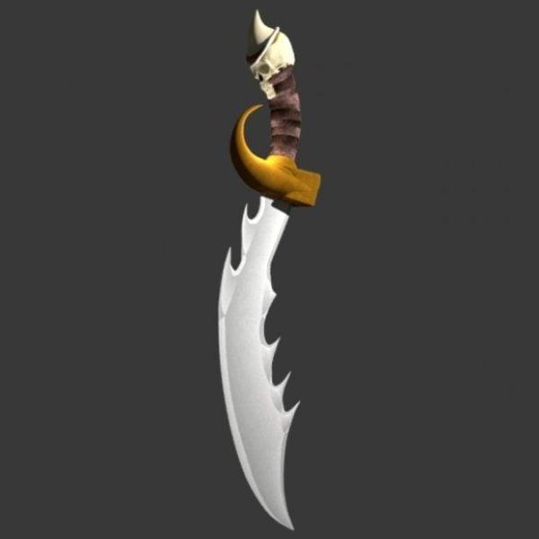 Arma Espada Calavera