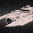 Star Wars Decimator Spaceship