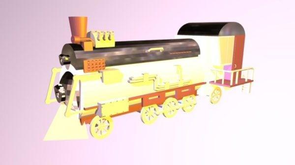 تصميم قطار المركبة