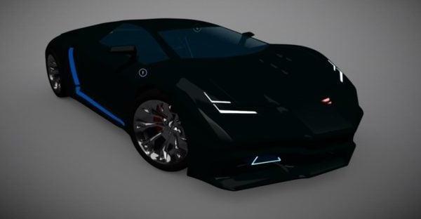 Super Car Lamborghini Style