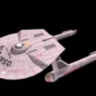 Surya Class Sci-fi Spaceship
