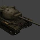 Military T29 Heavy Tank