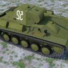 武器T70m軽戦車