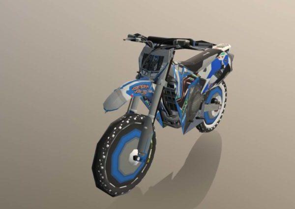 Tm450-moottoripyörien suunnittelu