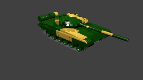 Military Tank T72