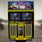 Machine d'arcade de jeu Time Crisis