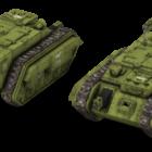Trojanischer Panzer der kaiserlichen Garde