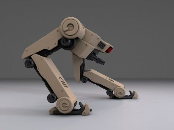 Two Legs Dog Robot