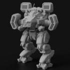 Vikingský robot Battletech Character