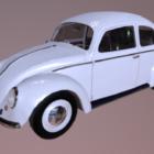 Bílé Vw brouk auto