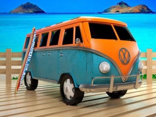Coche de autobús Vw vintage