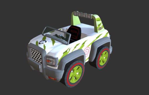 Rastreador de vehículos para juegos