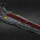 Venator Star Destroyer Spaceship