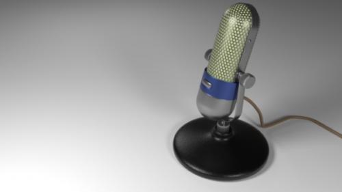 Vintage-mikrofoni