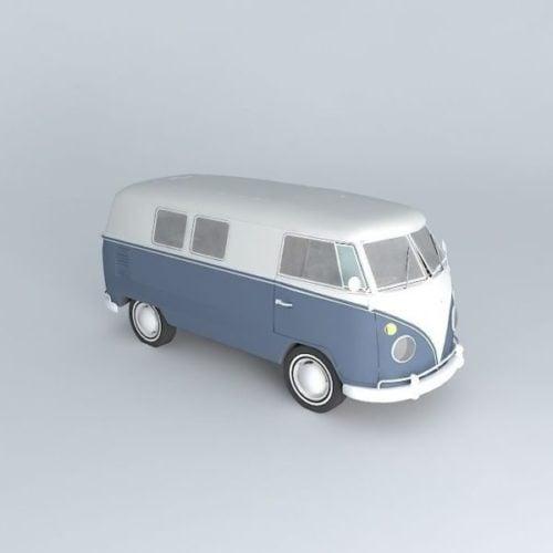 خمر حافلة فولكس فاجن كومبي 1967