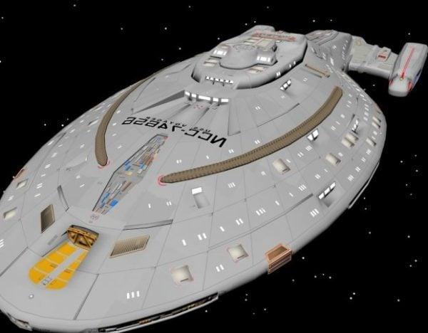 Voyager Ncc -aluksen suunnittelu