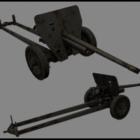 Zbraň Ww2 Japonské dělostřelectvo