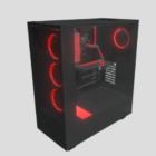 Computer Cpu Case Watercooled
