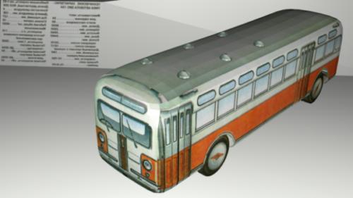 Zis-154 حافلة سيارات
