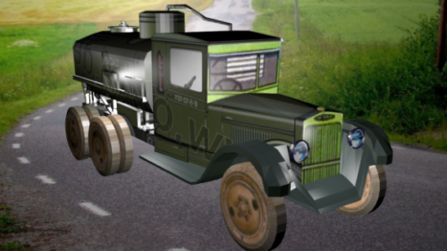 Zis-6 Vintage-auto