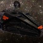 Sci-fi Spaceship Sun Diver Design