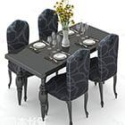 Ruokapöytä ja tuoli ylellinen tyyli