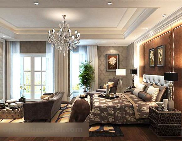 European Bedroom Design Interior